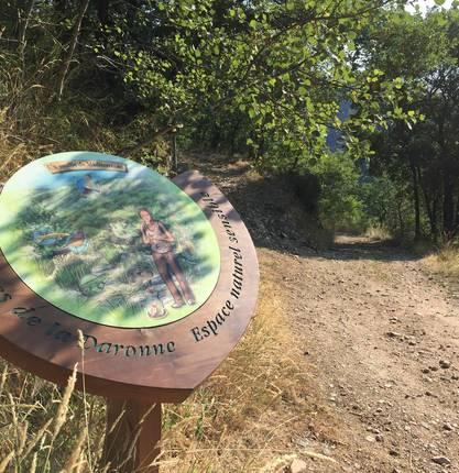 """Hiking path """"The secret nature of the Gorges de la Daronne"""""""