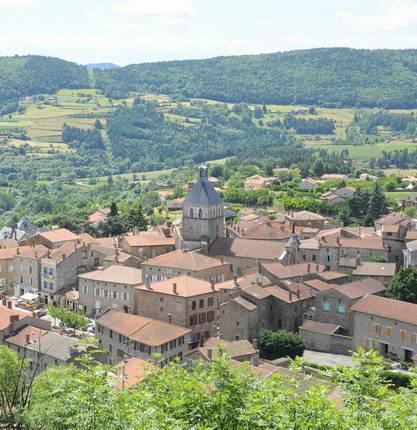 Grande Traversée de l'Ardèche VTT variante de Saint-Félicien à Les Estables