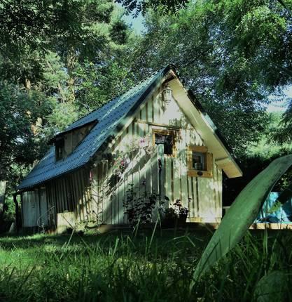 Maison Troll au Camping de la Vallée du Doux